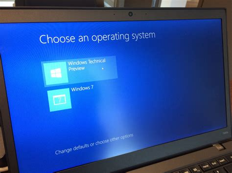 Native VHD Boot to Windows 10 Technical Preview Dual Boot