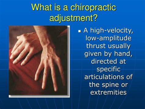 PPT - An Introduction to Chiropractic Care PowerPoint