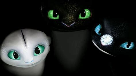 HOW TO TRAIN YOUR DRAGONS 3 HTTYD3 Night Light furys