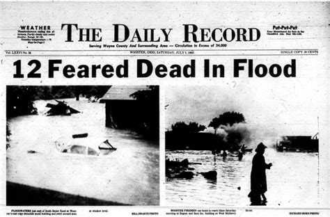 Help us mark the Flood of '69 - News - The Daily Record