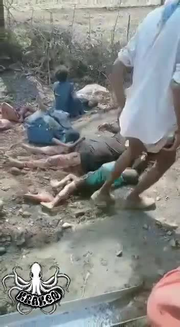 BRUTAL ACCIDENT! CHILDREN CRY ON THE SIDE OF THEIR DEAD