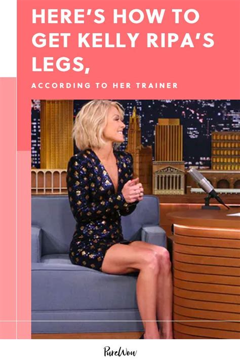 Here's How to Get Kelly Ripa's Legs, According to Her