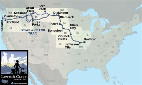 Lewis & Clark Trail   Adventure Cycling Route Network