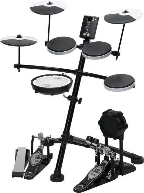 """Roland TD-1KV V-Drums with 8"""" meshhead snare   drum-tec"""