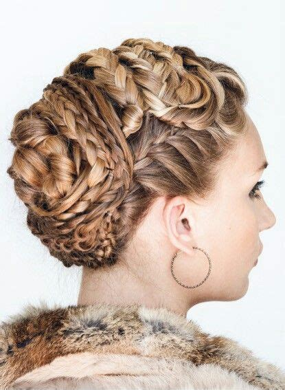 Viking Braided Updo by Annette Collins | Medieval
