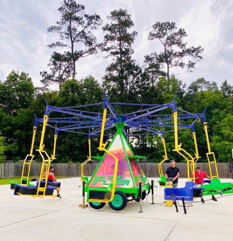 Dixie swing carnival ride Rental   Bounce House & Party