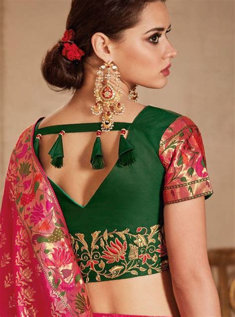 Saree blouse neck designs 2020 online – Page 2   Readymade