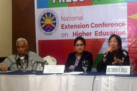 CHED to SUCs: Prioritize extension projects   Davao Today