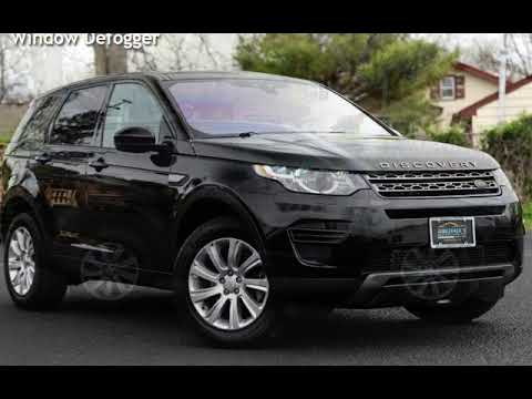 2017 Land Rover Discovery Sport Discovery Sport HSE Luxury