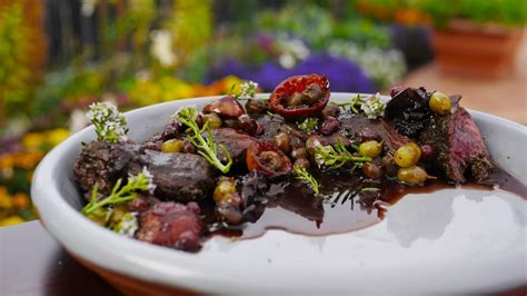 Kangaroo with Australian Native Fruits, Herbs and Spices