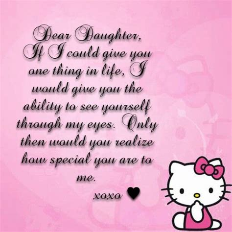 #Daughter #Mom #Quotes #Sayings #HelloKitty   Quotes