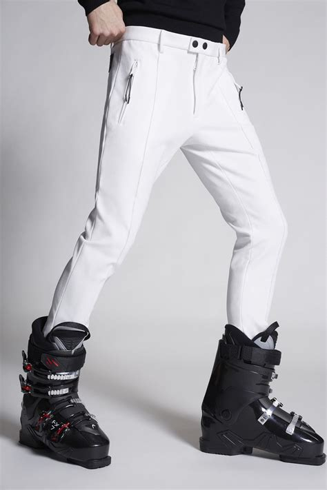 Dsquared2 Stretch Tecnical Jersey Ski Pants - Pants for