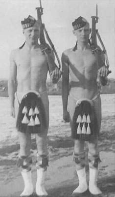 Canadian Forces - Two Calgary Highlanders on guard duty