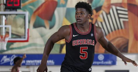 Anthony Edwards would like to see Georgia's top basketball