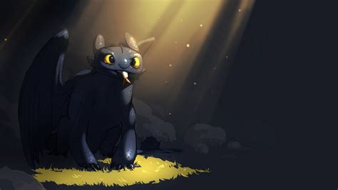 Toothless, Night Fury, How To Train Your Dragon, How To