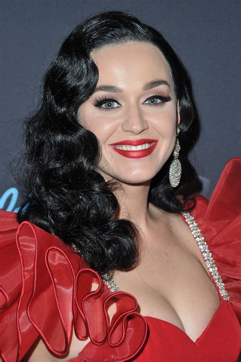 See Katy Perry's New Long Black Hair | InStyle