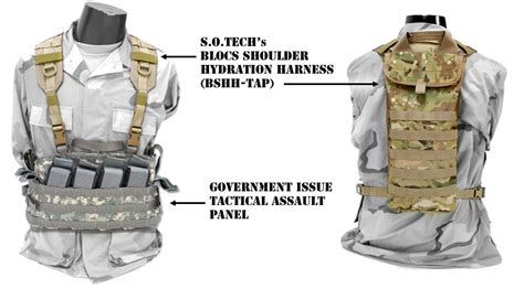 BLOCS Shoulder Hydration Harness - TAP - Soldier Systems Daily