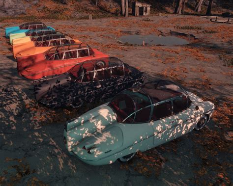 Drivable Vanilla Cars - Fallout 4 Mods   GameWatcher
