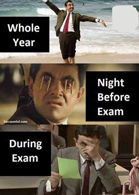 12 REALISTIC Memes For Students Who Struggle With Exam Prep