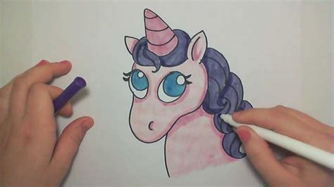Learn How to Draw A Cute Pink Unicorn -- iCanHazDraw