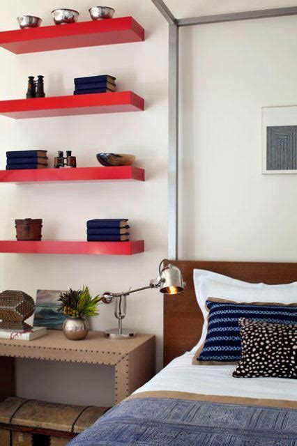 Red Accents In Bedrooms – 34 Stylish Ideas - DigsDigs