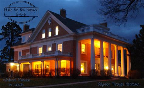 Home for the Holidays: Whitehall Mansion in Lincoln