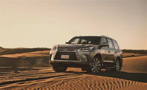 Flagship Lexus LX 570 Launched In India; Priced At Rs