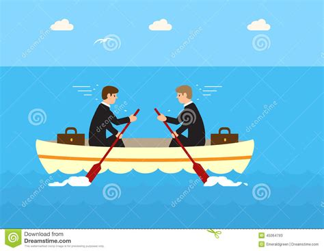 Different Directions stock illustration