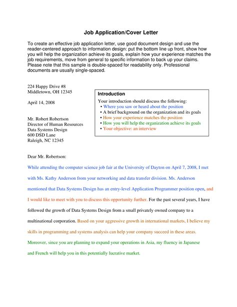 10+ Professional Cover Letter Examples - PDF | Examples