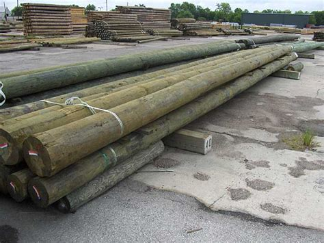 Wood Timber Poles & Pilings   Timber Building Products
