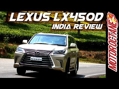 Lexus LX 450d SUV Launched in India at Rs