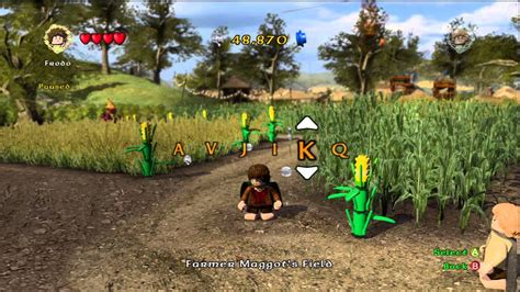How to Enter Cheat Codes in LEGO Lord of the Rings - YouTube