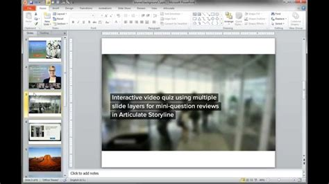 PowerPoint Tutorials: How to Create Blurred Background
