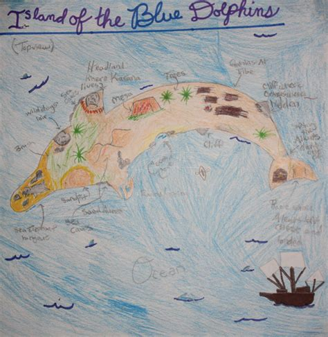 31 Island Of The Blue Dolphins Map - Maps Database Source