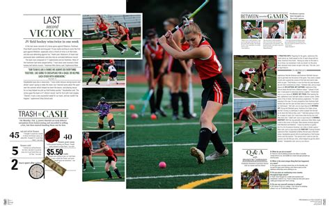 Sports Yearbook Layouts - Yearbook / Examples of Layouts