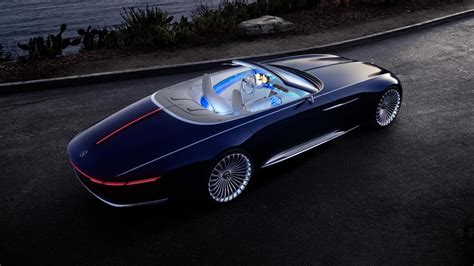 This is the Vision Mercedes-Maybach 6 Cabriolet | Top Gear