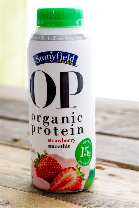 Review: Stonyfield OP Organic Protein Smoothies #