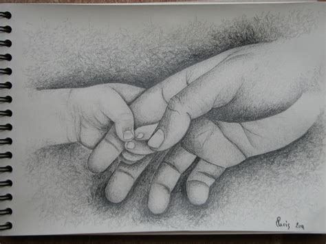 hand's baby hold the big one^^ (With images) | Hand art
