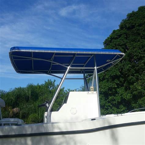 custom made T-top replacement canvas, Sunbrella boat cover