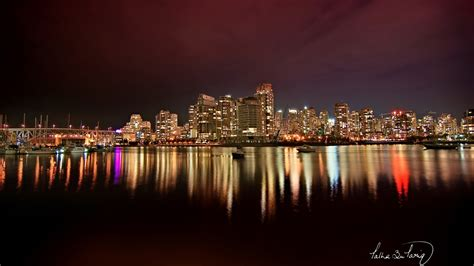 Vancouver City Nights Wallpapers   HD Wallpapers   ID #10135