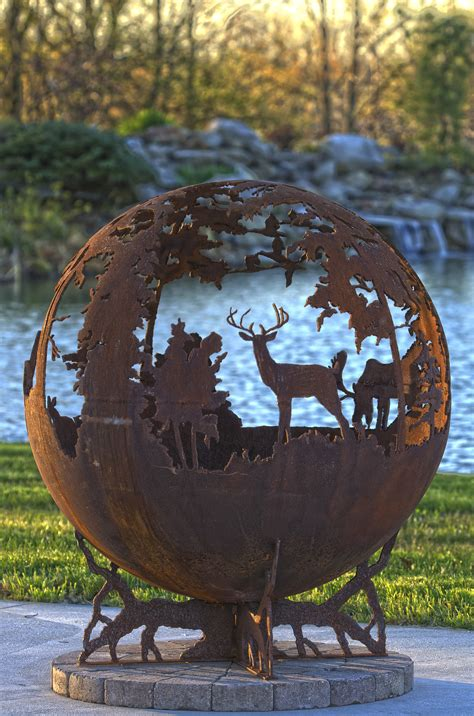 Up North Fire Pit Sphere   The Fire Pit Gallery