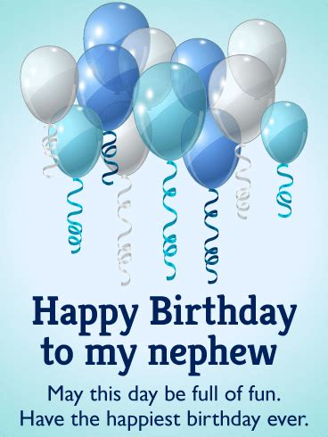 Have the Happiest Birthday - Birthday Balloon Card for