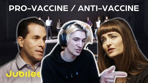 xQc Reacts to Pro-Vaccine vs Anti-Vaccine: Should Your