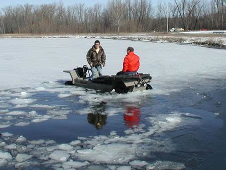 Safe, convenient and cheap Ice-fishing vehicle Wilcraft