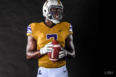LSU will wear these throwback gold uniforms vs Mississippi